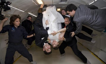 The Physics of a Free-Fall Wedding