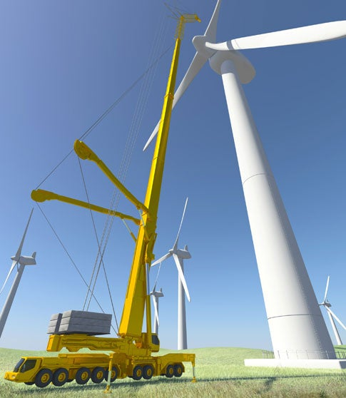 The Tallest Mobile Crane