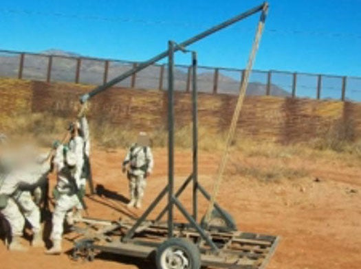 Mexican Authorities Seize Homemade Marijuana-Hurling Catapult At The Border