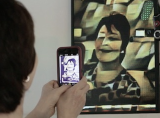 A.I. Mirror Turns Your Reflection Into A Picasso Painting