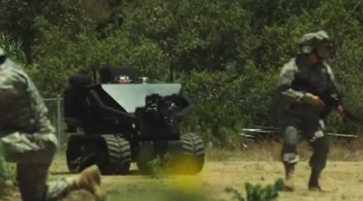Video: A 4,500-Pound Minesweeping, Drone-Launching, Armored Autonomous Mini-Tank