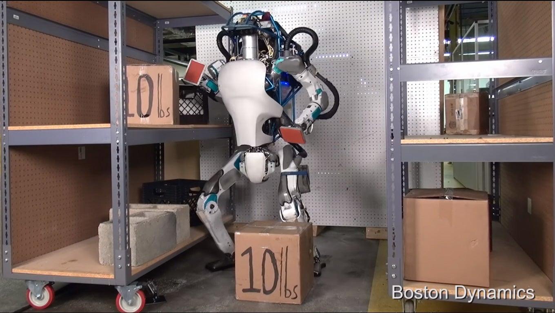 Boston Dynamic's Atlas Robot