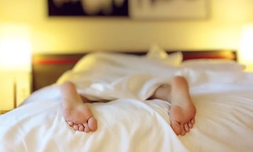 Sleeping in on the weekend won't actually give you heart disease