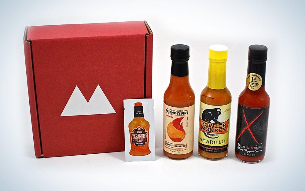 Fuego Box hot sauce gift box