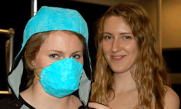 Undergraduate Designer Makes Nanostructured Clothes That Block Poisonous Gases