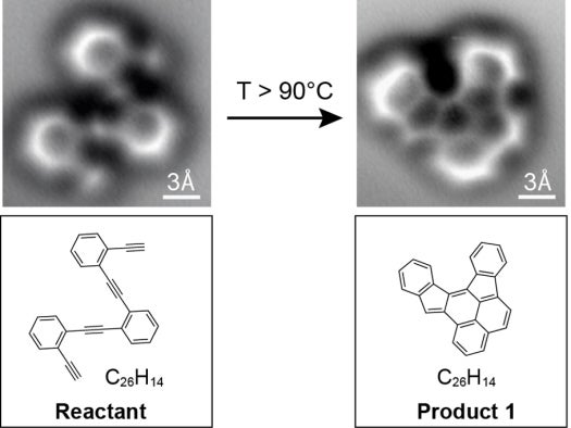 First Images Of How A Molecule's Structure Changes In A Reaction