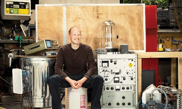 You Built What?! A Homemade Scanning Electron Microscope