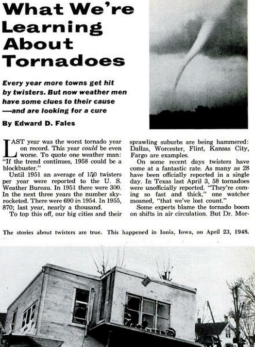 Hunting for a Tornado