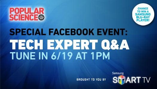 PopSci Tech Expert Social Media Event
