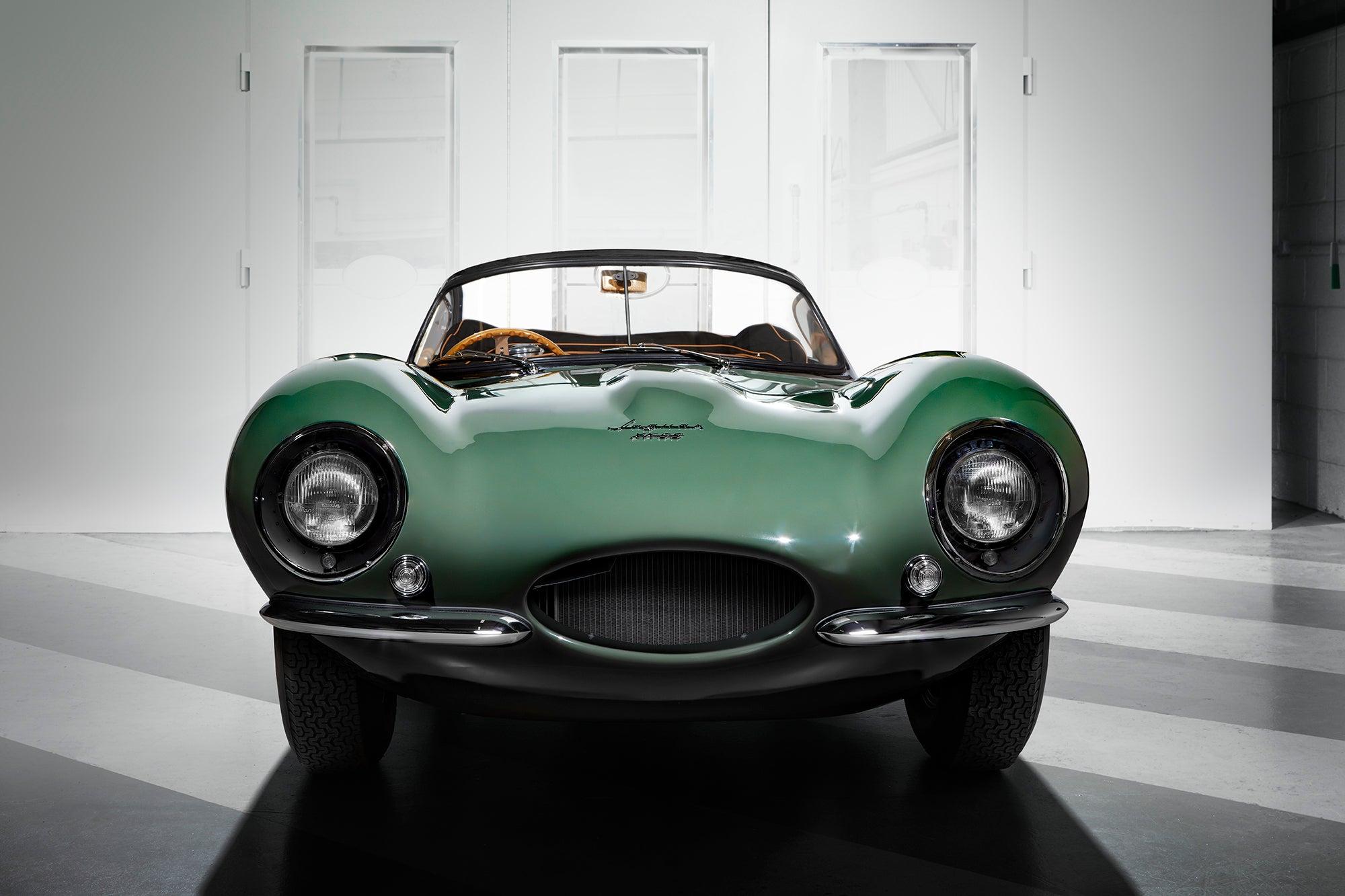 Front of recreated Jaguar XKSS