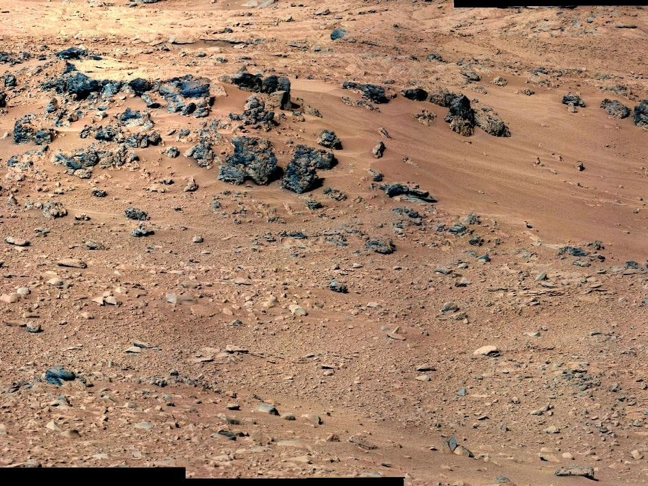 Curiosity Finds Water And Poison In Martian Soil