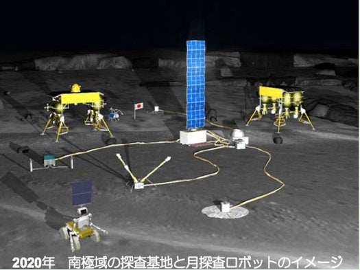 Japan Plans a Moon Base by 2020, Built by Robots for Robots