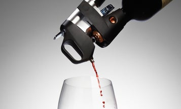 Surgical Needle That Sucks Wine From Bottle Without Removing Cork