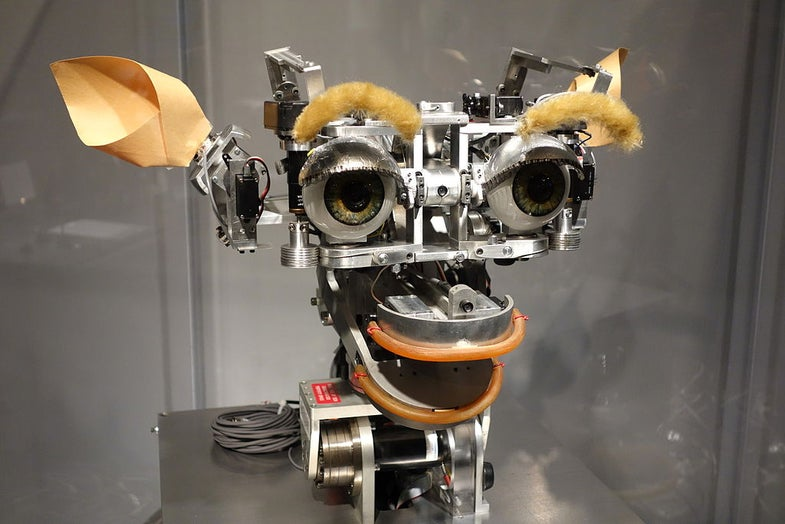 A Suspiciously Silent Robot Can Break The Turing Test