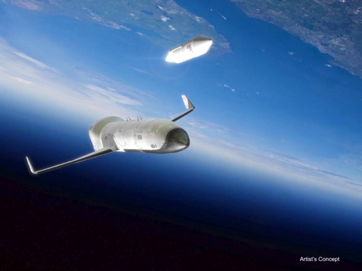 Why DARPA Wants An Experimental Spaceplane