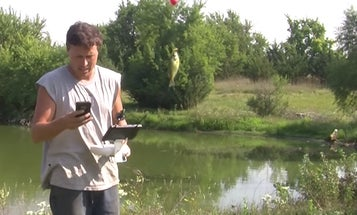 Did This Drone Just Catch A Fish?