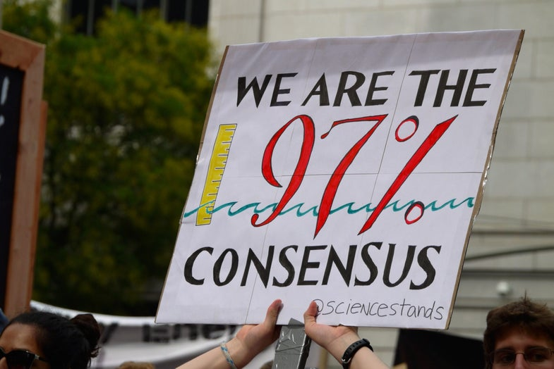 Why These 15 Scientists Marched For Climate Change Action