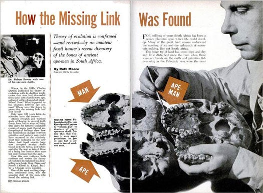 The Missing Link: February 1954