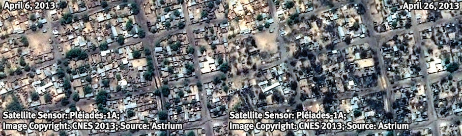 Satellite Images Expose Human Rights Abuses In Nigeria