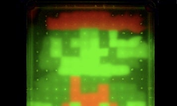 Japanese Create Fluorescent Mario from Genetically Engineered Bacteria