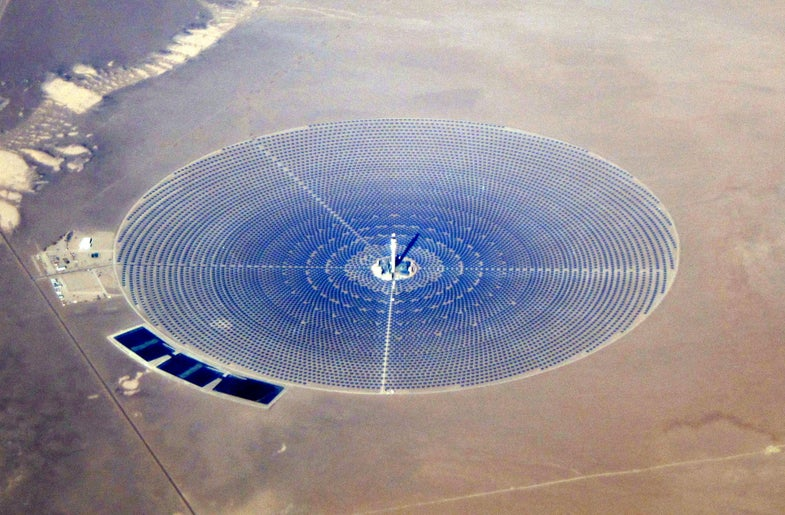 Solar Power Towers Are 'Vaporizing' Birds