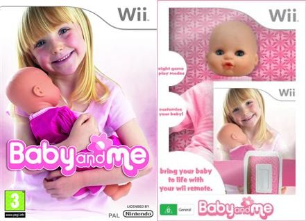 The Horror: Life-Like Baby Made Into Wii Controller