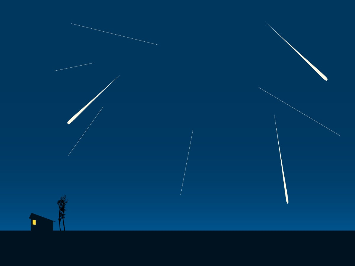 Watch the magnificent Geminid meteor shower peak tonight