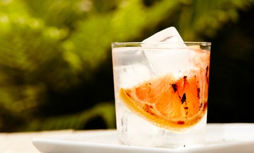 Up your cocktail game by firing up the grill