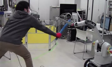 Sure, Just Give A Robot A Sword