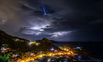 Here's what happens when lightning doesn't hit the ground