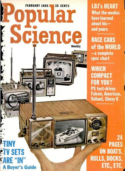 Even Tinier TV Sets: February 1965