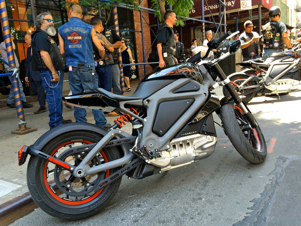 Harley-Davidson Has A Real LiveWire, Also Known As Its First Electric Motorcycle