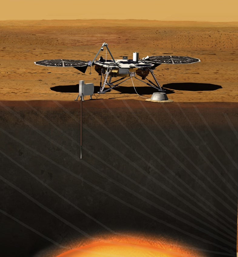 A Robot Drill For Mars Will Be NASA's Next Interplanetary Mission