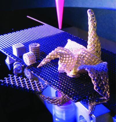 Tiny Titanium Origami Highlights New Method Of Micro-Construction