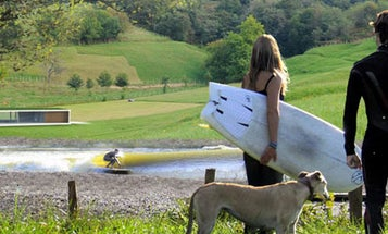 A Surf Park High In the Pyrenees