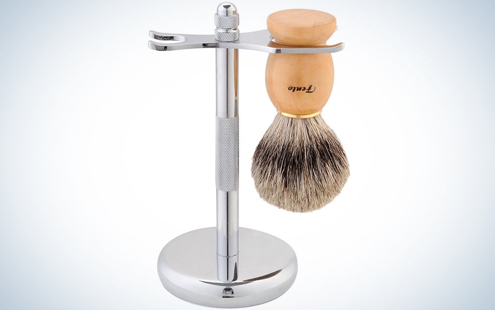 Professional shaving brush and stand 75 percent off? I'd buy it.