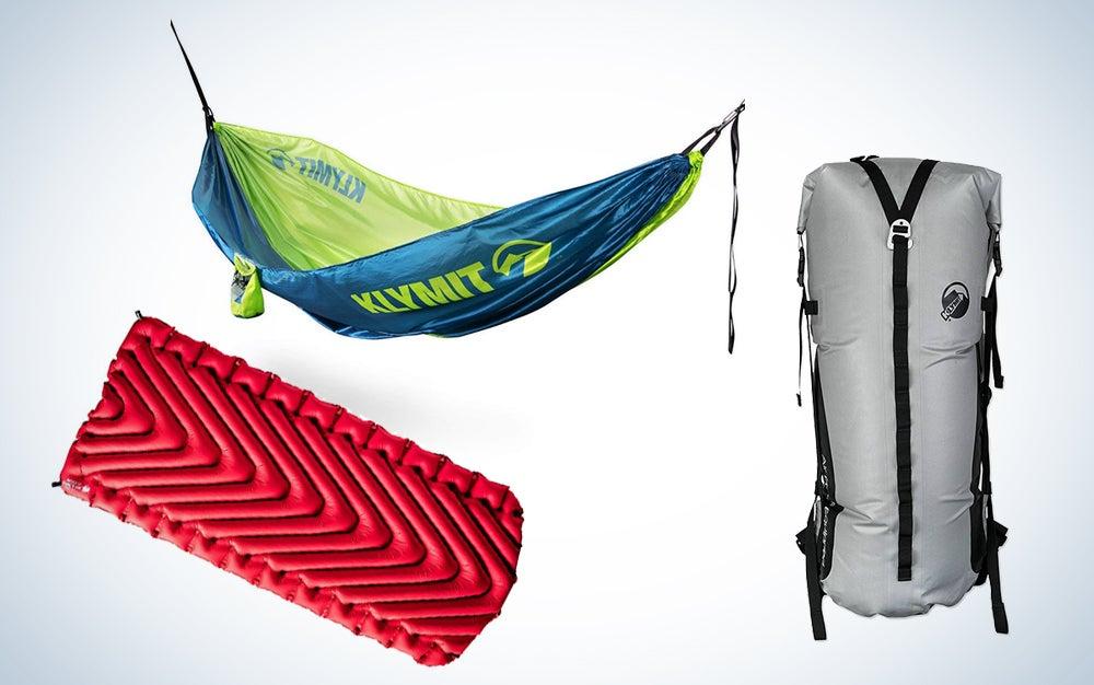 Klymit camping gear