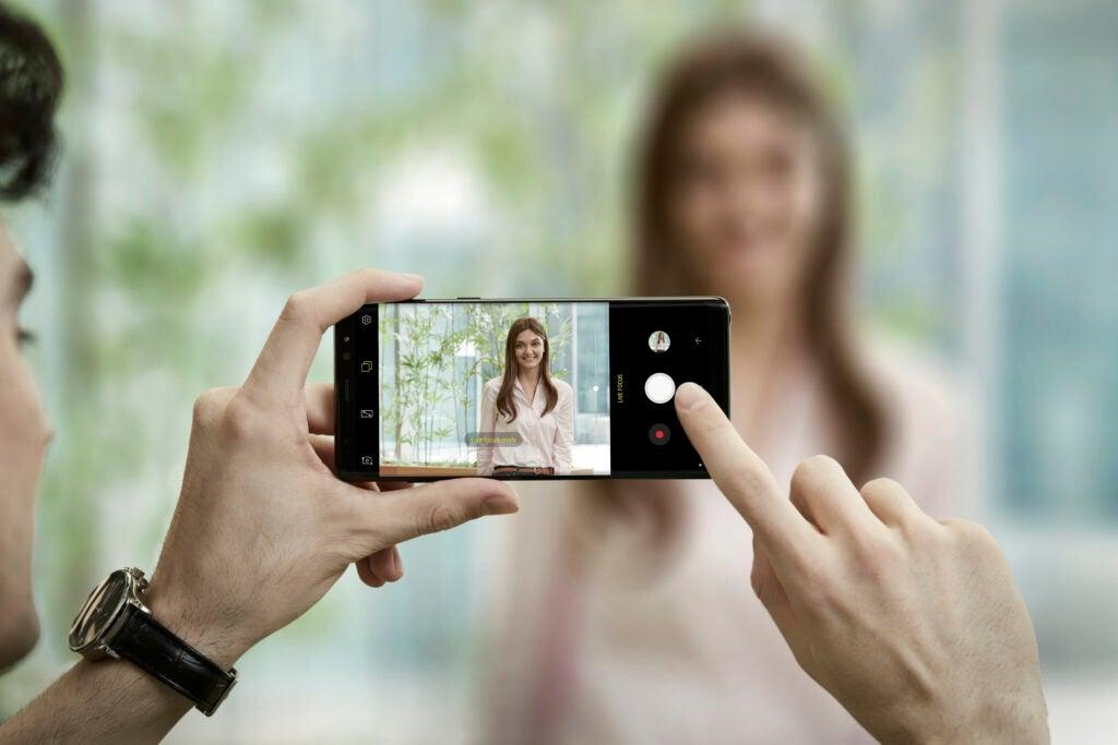 Samsung Note8 Live Focus
