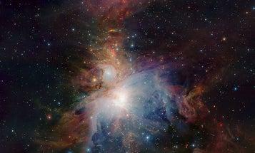 Orion Nebula Fully Unveiled in New Telescope Image