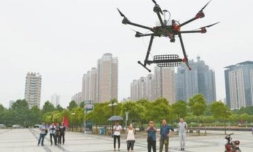 Anti-Cheating Drone Will Hover Over Test-Takers In China