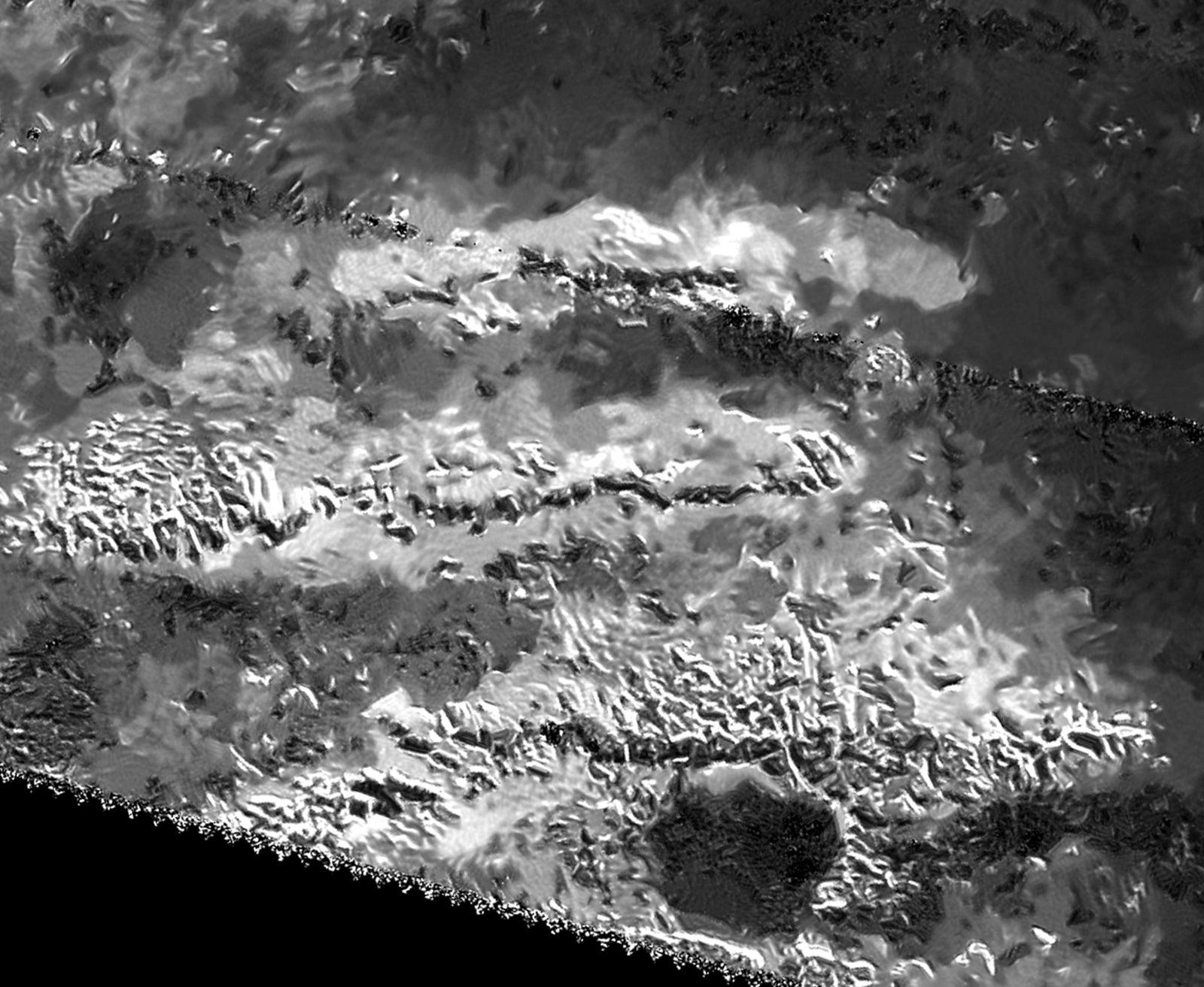 Probe Finds Massive Icy Mountain On Saturn's Moon Titan