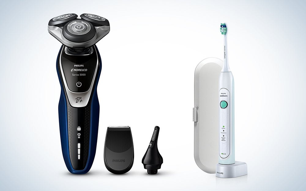 Philips toothbrush and shaver