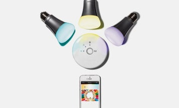 These LED Bulbs Can Shine With A Color You Select From Any Photo