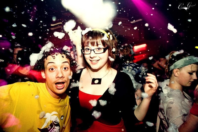Foam Party Causes Corneal Abrasion And Vision Problems