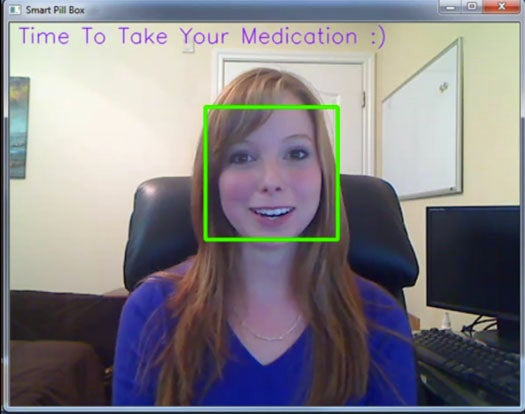 A Smart Pill Box Uses Face Recognition Tech to Ensure We Take Our Meds