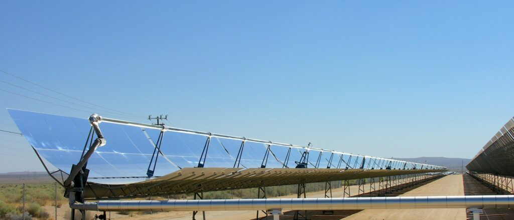 parabolic solar thermal