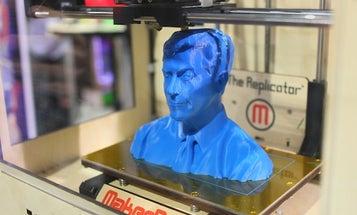 Video: MakerBot Replicator Prints a Plastic Bust of Stephen Colbert