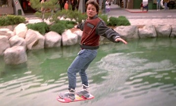 What Would You Do With A Real Hoverboard?