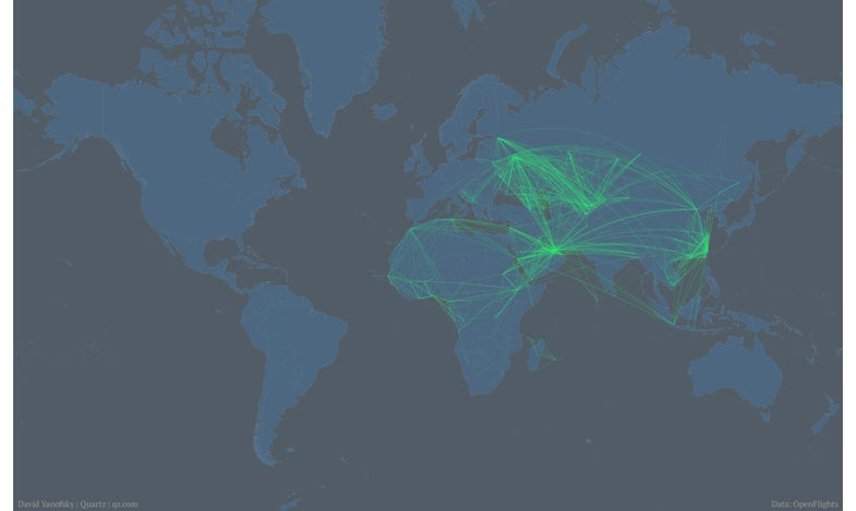 Where Edward Snowden Could Fly Without Getting Hauled Back To The U.S. [Infographic]