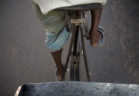 "India's Cycle-Rickshaws Get a ""Solar"" Upgrade"